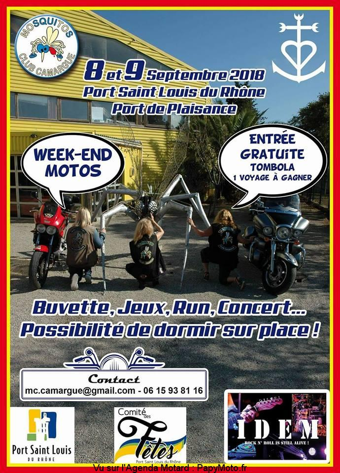 Week-End Moto Mosquitos Club Camargue - Port Saint Louis du Rhône (13)
